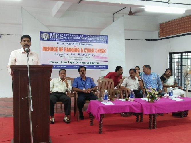 Anti Ragging Awareness Programme